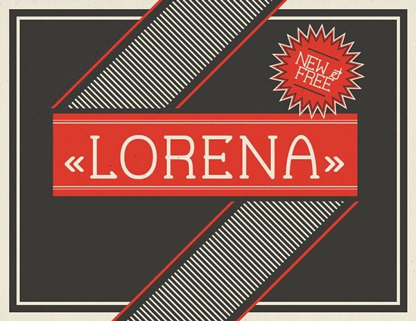 lorena-free-font