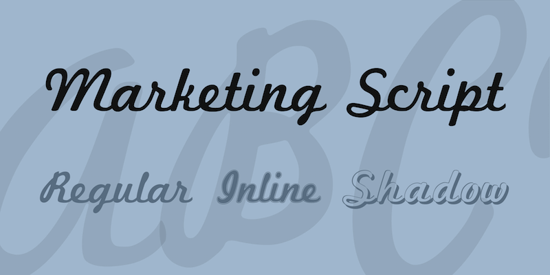 marketing-script-font