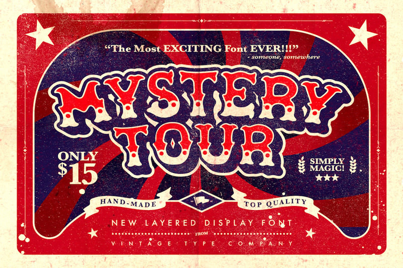 mystery-tour-vintage-fonts