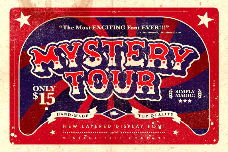 mystery-tour-vintage-fonts