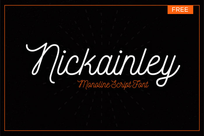 nickainley-vintage-script-font