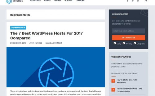 WPKube – Your Ultimate WordPress Blog