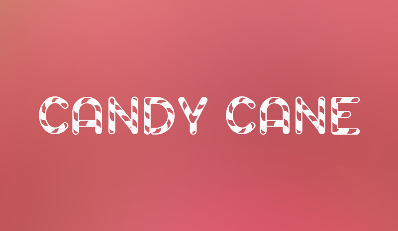 Candy Cane Text – Home Exsplore