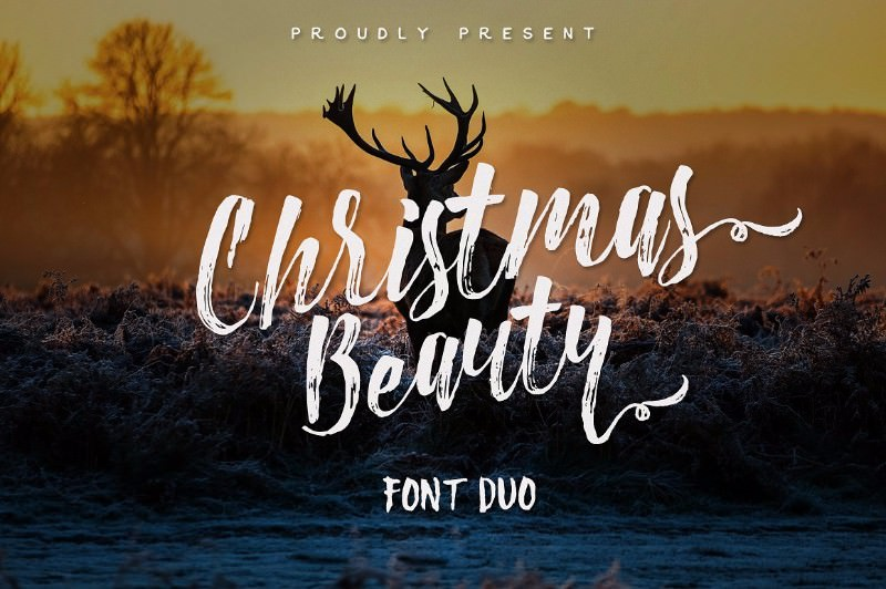 christmas-beauty-font-duo