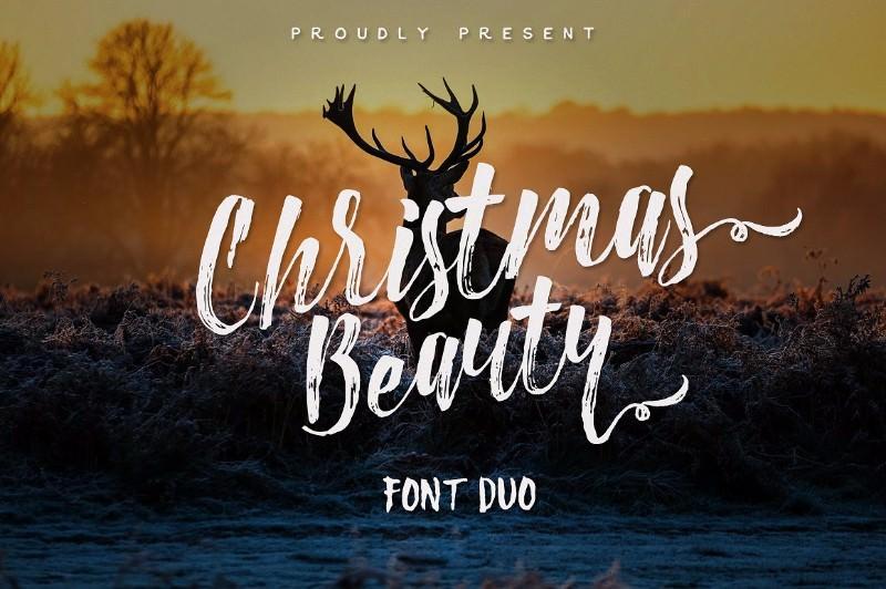 christmas-beauty-font-duo