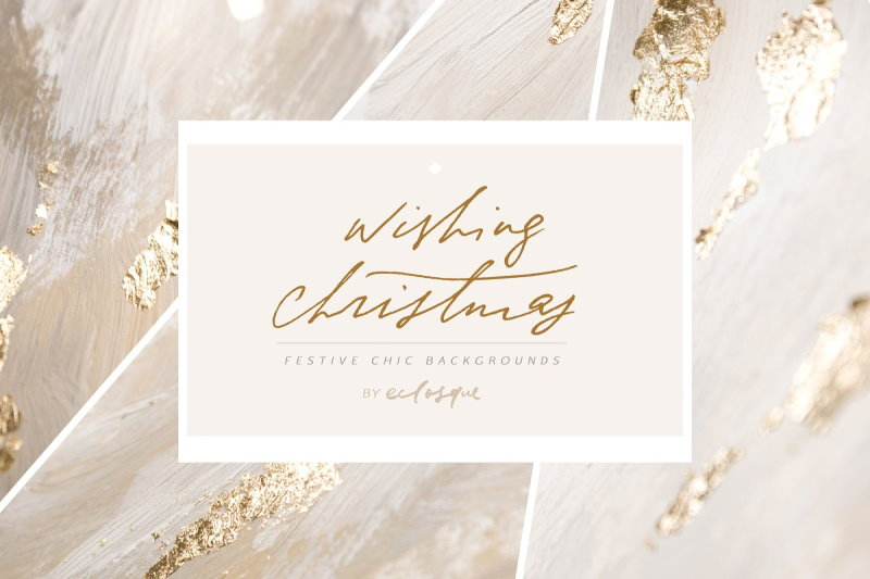christmas gold foil backgrounds