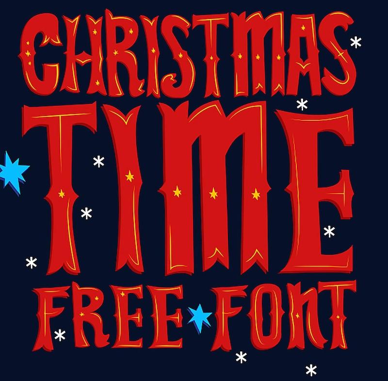 christmas-time-free-font