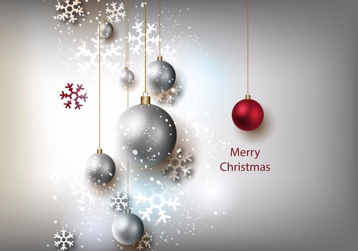free-christmas-grey-background-vector