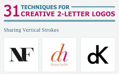 How to Design a Creative Two-Letter Logo [Infographic]