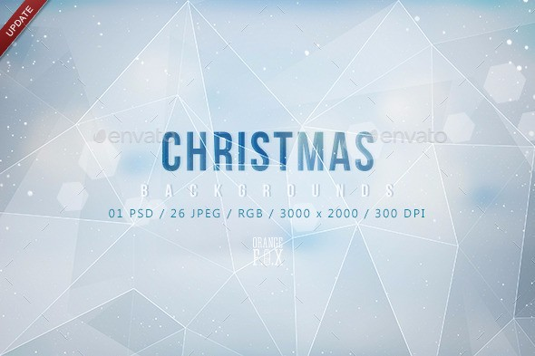 polygon-christmas-backgrounds