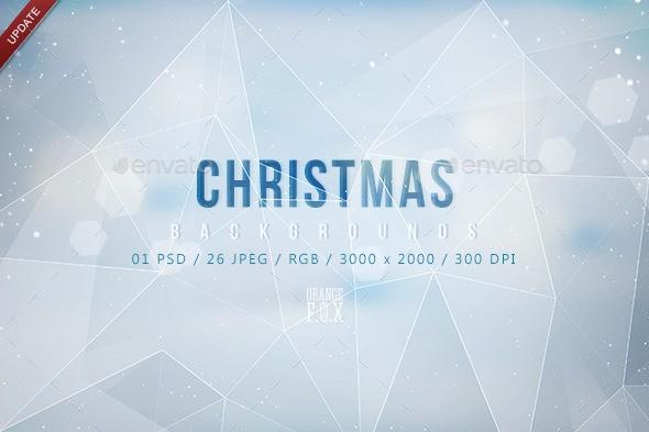 polygon-christmas-backgrounds