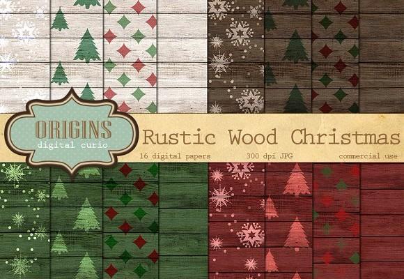 rustic-wood-christmas-backrounds