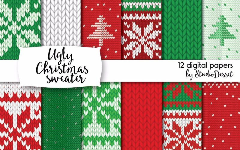 ugly-christmas-sweater-textures