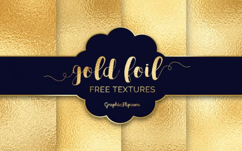 Free Gold Foil Textures to Glam up Your Design Projects