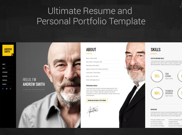 16 resume wordpress themes for personal websites with cv super dev mee is a responsive resume cv wordpress theme perfect for displaying your resume education experience awards and portfolio in a professional way yelopaper Gallery