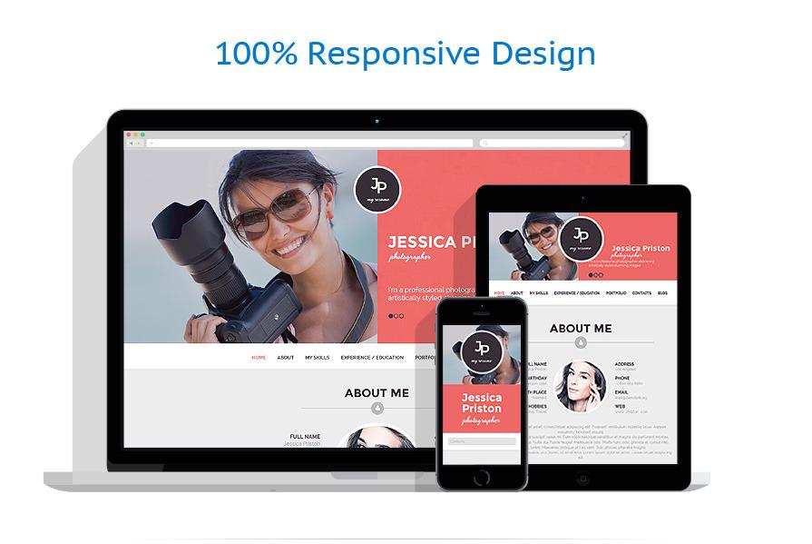photographer cv wordpress theme. Resume Example. Resume CV Cover Letter
