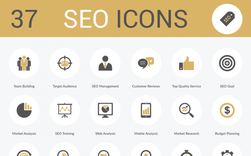 37 Free SEO Icons (AI, EPS, SVG and PNG)