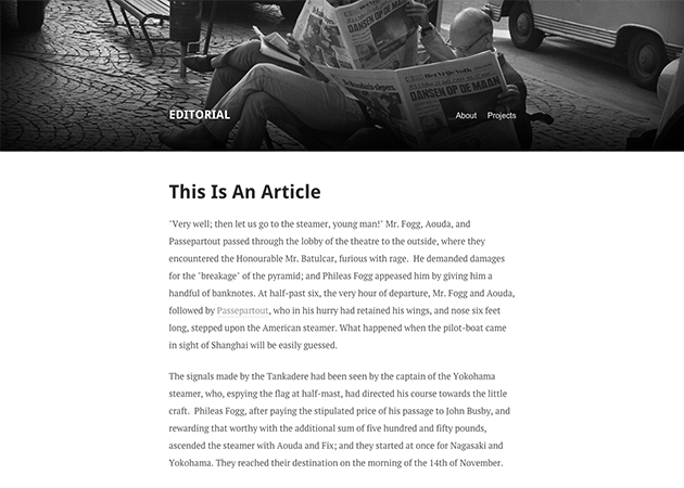15 Minimal Tumblr Themes for Writers - Free and Premium - Super Dev