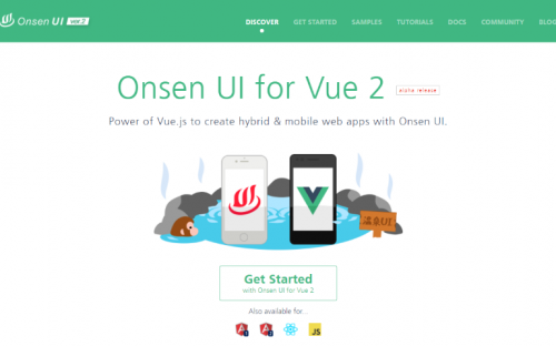10 Best Vue.js based UI Frameworks for Building Mobile Apps