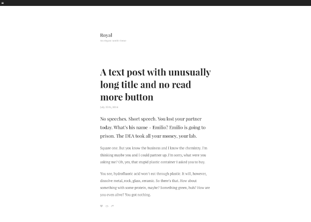 15 Minimal Tumblr Themes For Writers