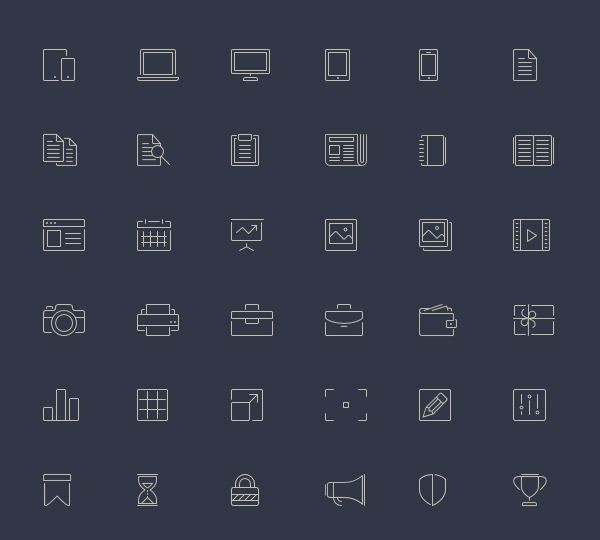 18 Free SVG Icon Sets for Commercial Use in Web Design - Super Dev