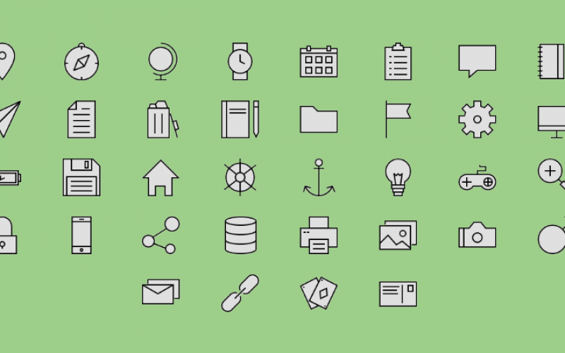 18 Free SVG Icon Sets for Commercial Use in Web Design
