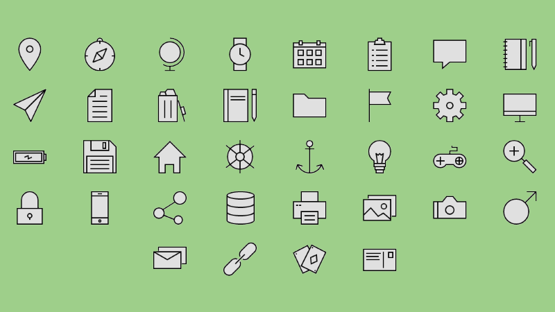 18 Free SVG Icon Sets for Commercial Use in Web Design - Super Dev Resources