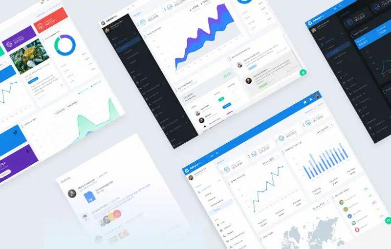 AdminPro Vuetify Dashboard Template