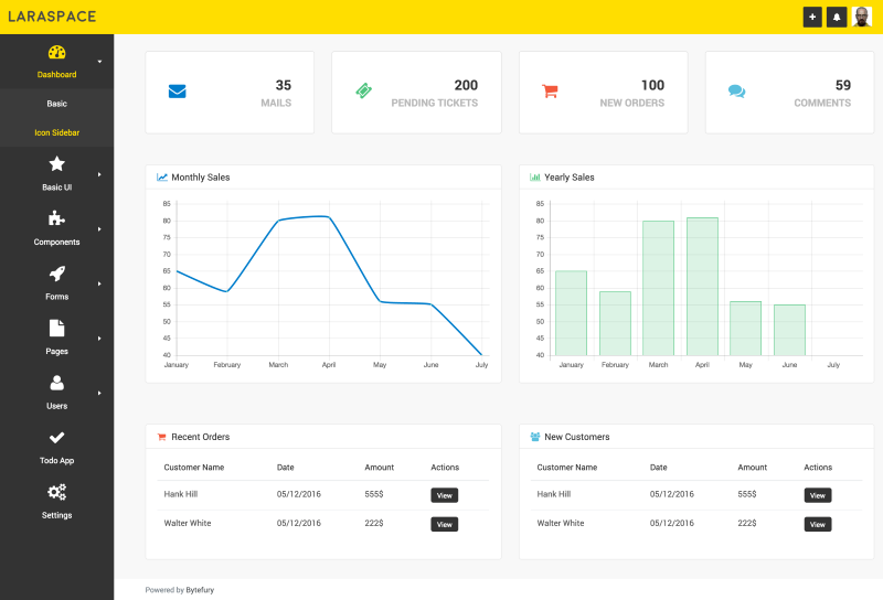 8 Vue js Admin Dashboard Templates for Free Download and Premium