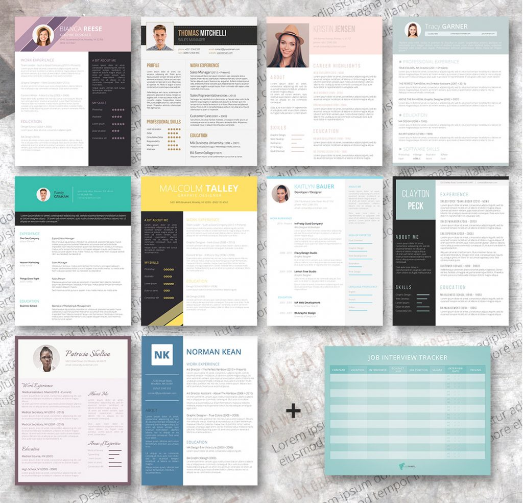 the bundle also comes with a free job interview tracker in pdf format this is a great free tool for the determined job seeker when you are applying for a