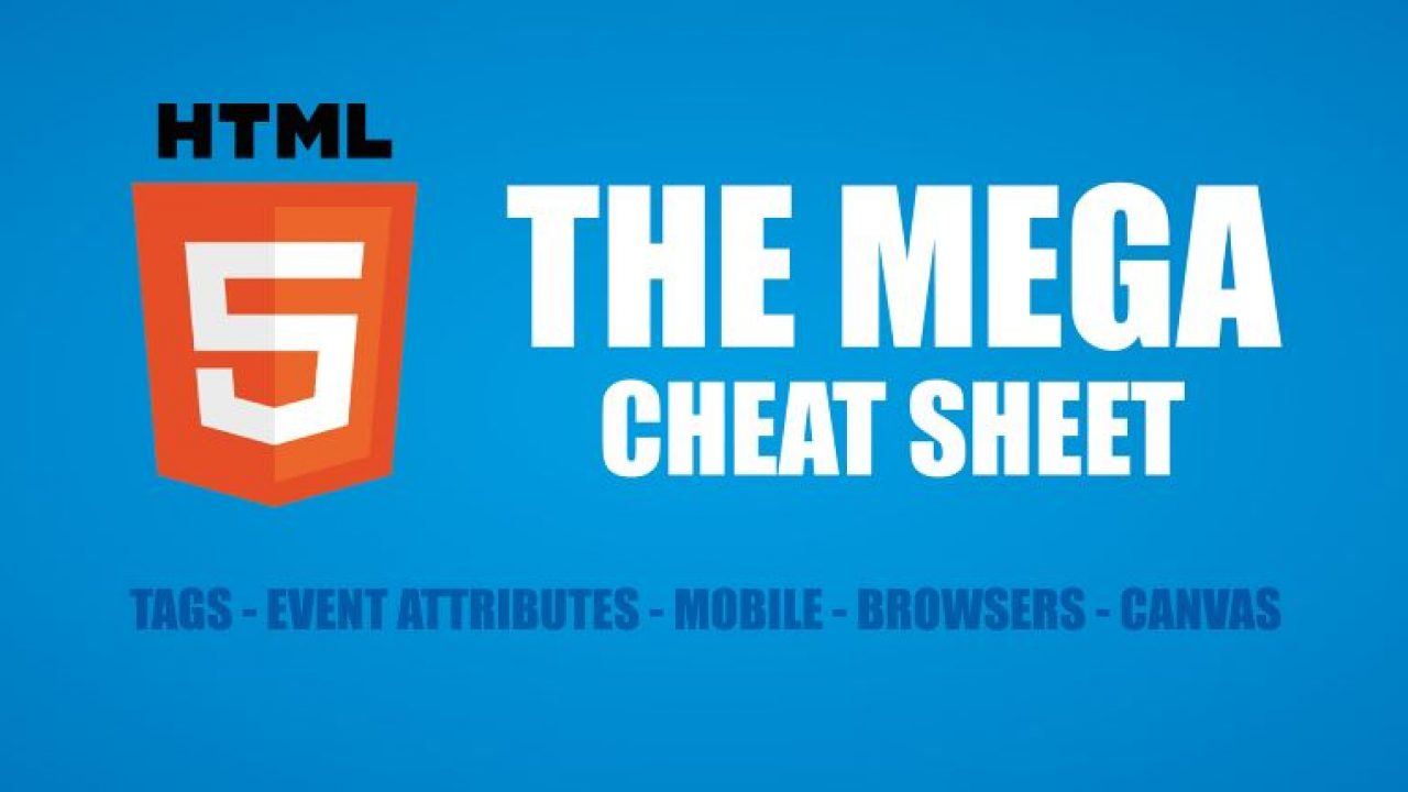 10 Essential Cheat Sheets for Website Development - Super