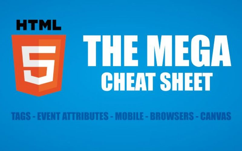 10 Essential Cheat Sheets for Website Development