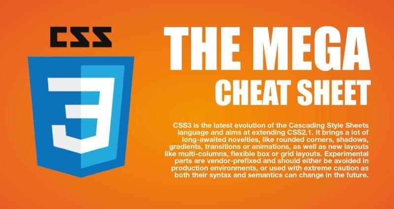 css cheat sheet pdf 2017