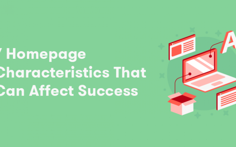 Your Homepage can Affect the Success of your Business [Infographic]
