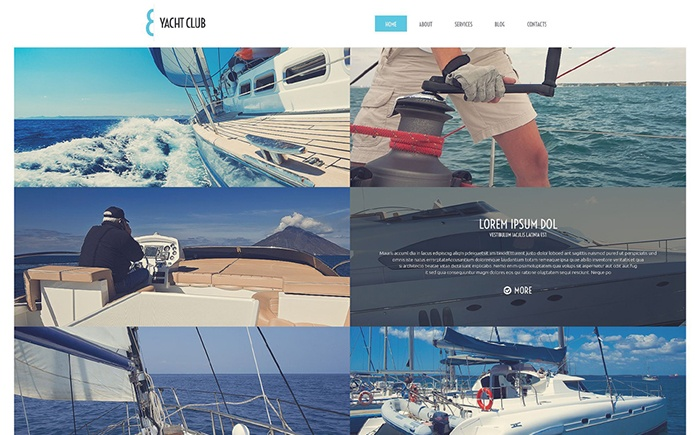 Yacht Club – Travel and Vacation WordPress Theme