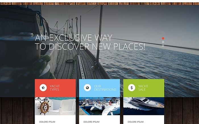 Yamony – Yachting and Boating WordPress Theme
