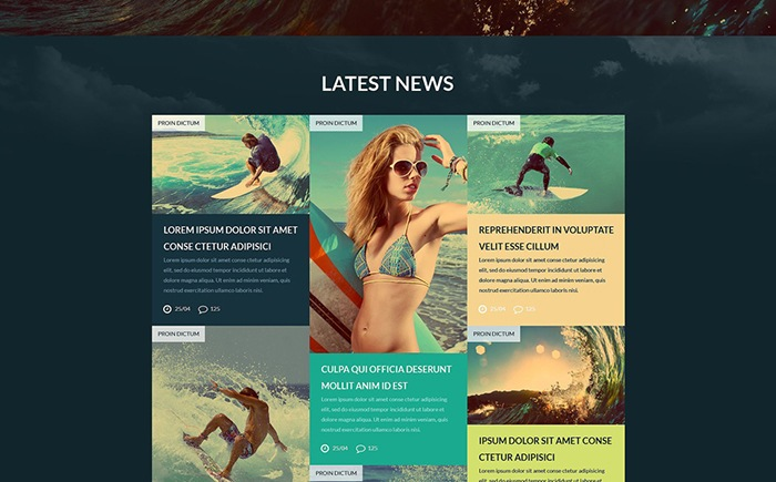 Surfing Club – Travel and Outdoor WordPress Theme