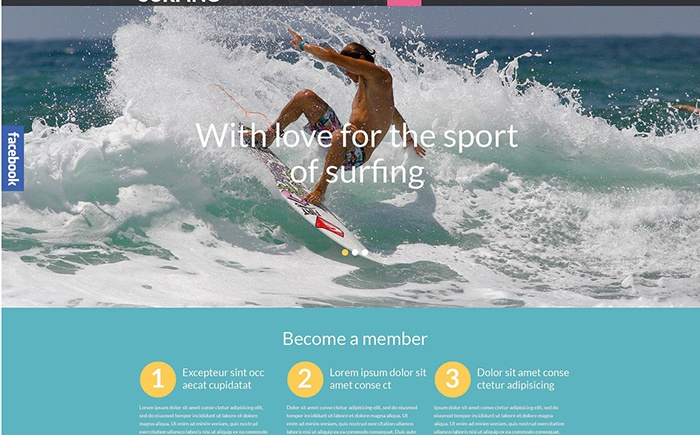 Surfing – Responsive Outdoor WordPress Theme