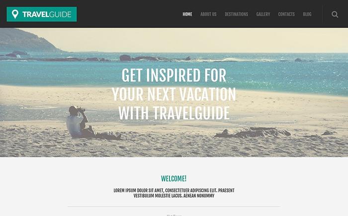 Travel Guide – Travel WordPress Theme