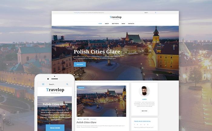 Travelop – Traveling Blog WordPress Theme