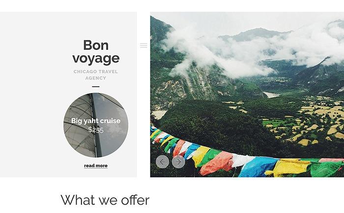 Bon Voyage – Travel Guide WordPress Theme