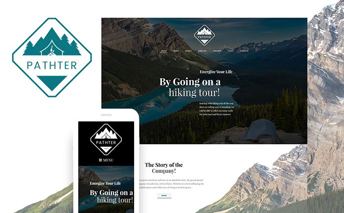 Hiking and Camping Tours WordPress Theme