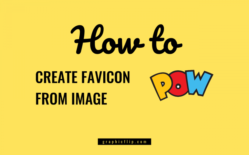 How to Create Favicon ICO file from Image PNG, JPG or SVG