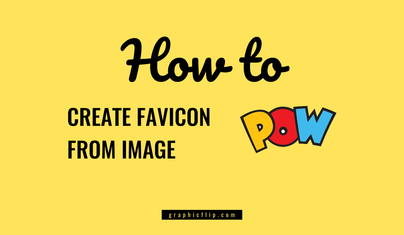 Create Favicon from Image