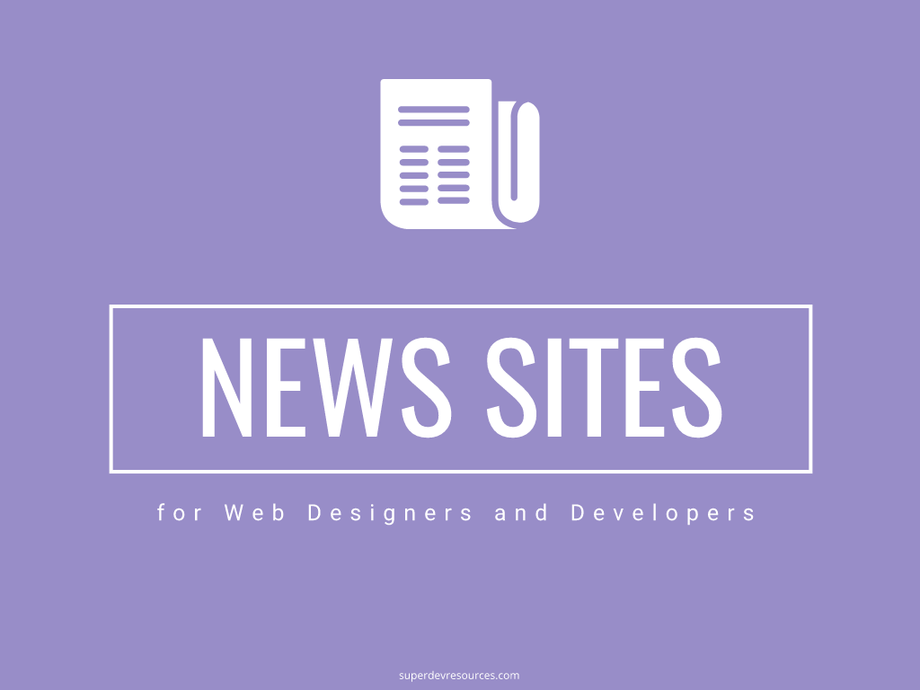 web design news sites