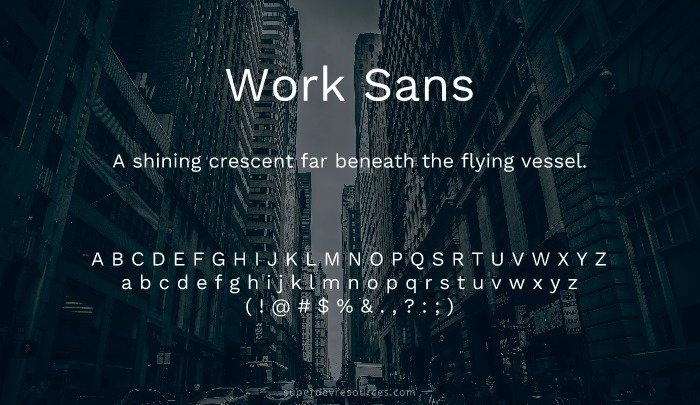 10 Best Open Sans Alternatives from Google Font Library - Super Dev