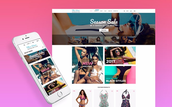 Swimwear Modern Shopify Theme