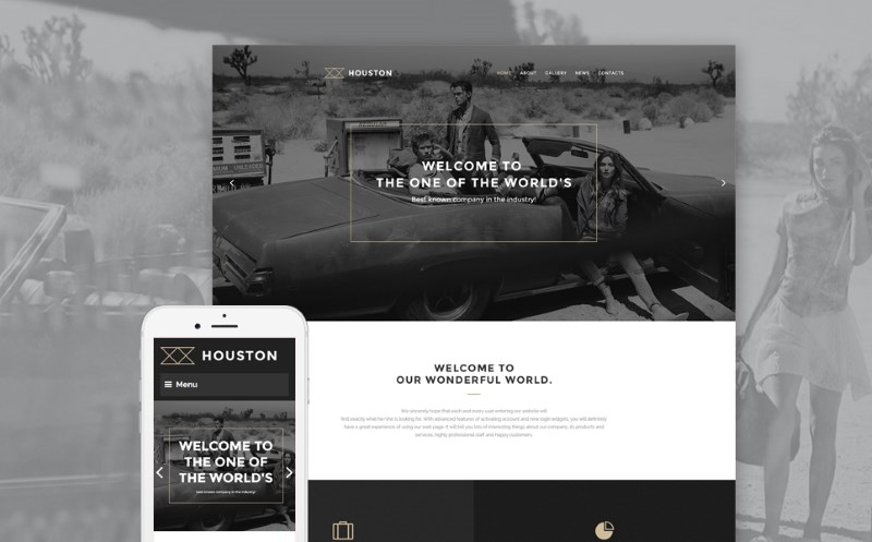 Services WP Template