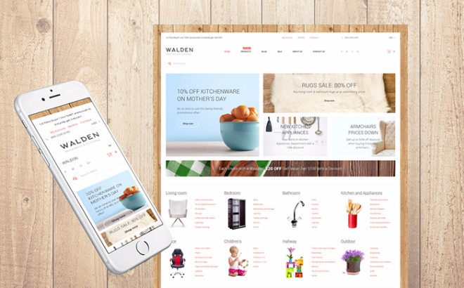 Home Decor & Furnishing Online Supermarket Shopify Theme
