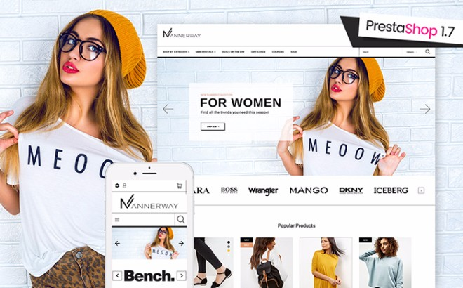 Mannerway | Fashion Clothes PrestaShop Theme